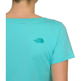 The North Face W's S/S Easy tee Refraction Green (H2H)